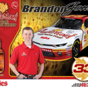2017 Hero card - Brandon Jones / Anderson's Maple Syrup