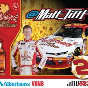 2018 Hero card - Matt Tifft / Anderson's Maple Syrup