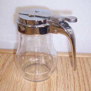 Glass Syrup Dispenser, 6 oz.