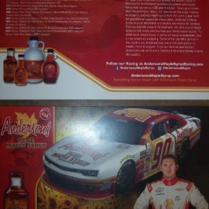 2015 Hero card - Andy Lally / Anderson's Maple Syrup